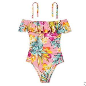 New one piece floral swimsuit 🩱